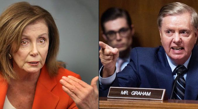 Sen. Lindsey Graham says impeachment will end when Americans fire Nancy Pelosi