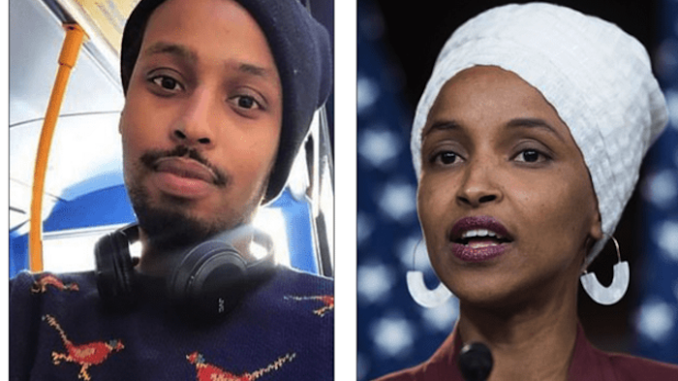 Rep. Ilhan Omar (D-MN) told friends years ago that the man who went on to become her second husband was in fact her brother, according to a Somali community leader who has gone on the record for the first time.
