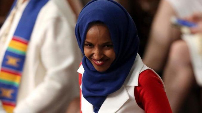 Rep. Ilhan Omar (D-MN) has introduced a series of global foreign policy bills, including two that will require the United States of America to cede authority and sovereignty to global institutions including the United Nations.