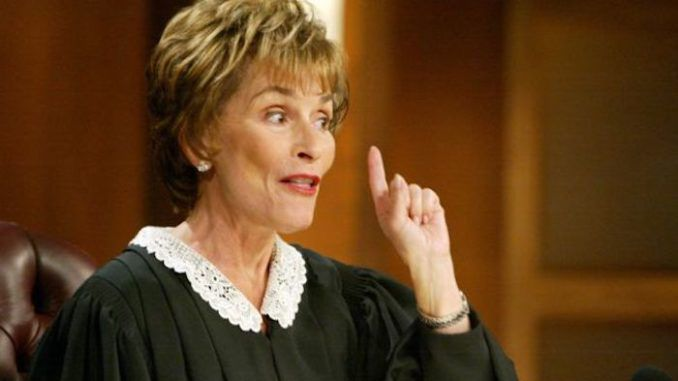 "Judge Judy has identified Bernie Sanders and his socialist movement as a threat to America as we know it, vowing to ""fight them to the death"" to keep America great."