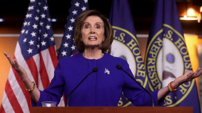 Nancy Pelosi declares America cannot stand a second destructive term of President Trump