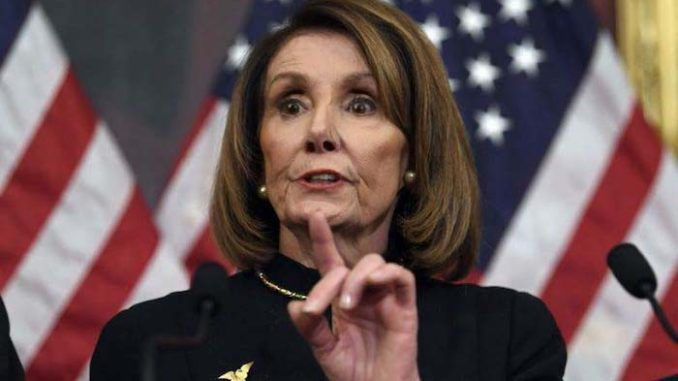 "House Speaker Nancy Pelosi went on an unhinged rant on CNN this week, interrupting the host and petulantly demanding that President Donald Trump ""was not acquitted"" in the Senate impeachment trial."