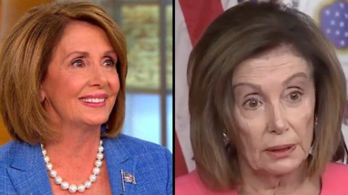 Twitter users reacted to photos of Nancy Pelosi in 2016, before taking on President Trump, and in 2020, after the impeachment trial.