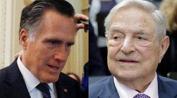 Mitt Romney CAUGHT Accepting Big Money Donations From Soros Fund Management