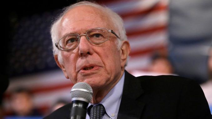Sen. Bernie Sanders vows to defeat the most dangerous president in U.S. history