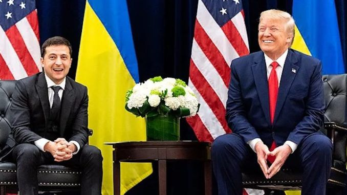 """Ukrainian President Volodymyr Zelensky, who was at the center of the Democrat-led impeachment sham, slammed Nancy Pelosi, Adam Schiff and the Democrats by describing the trial as nothing more than a """"soap opera."""""""