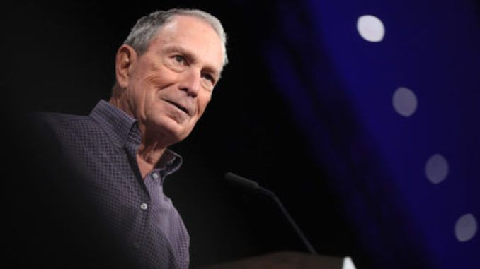 Michael Bloomberg vows to pump 60 million dollars into mass migration