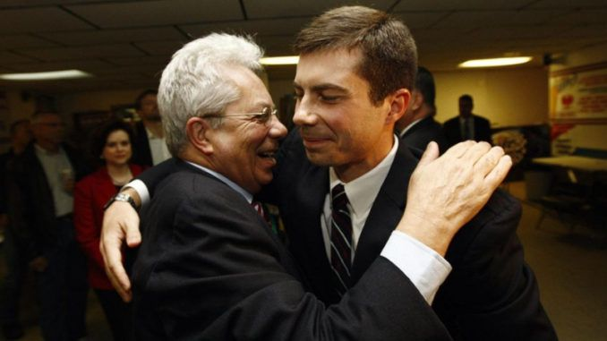 """The Democrat Party and mainstream media are trying to convince Americans that Pete Buttigieg is the """"moderate"""" choice in a crowded field of radical Democrat presidential candidates."""