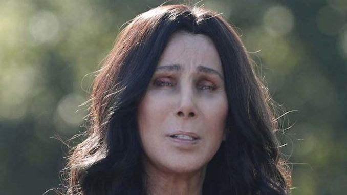 Cher wrote on Twitter that Joe Biden carries too much baggage to defeat Trump and none of the other Democrat candidates can win either.