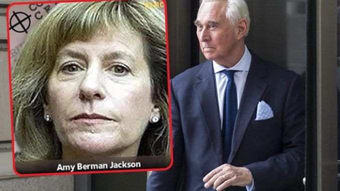 Roger Stone Judge Amy Berman Jackson wanted to jail conservative journalist for exposing biased juror