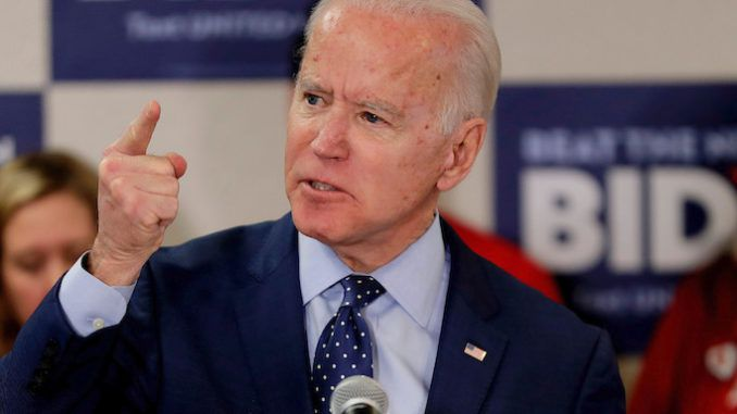 Joe Biden falsely claims founding fathers didn't want everyone to own a gun