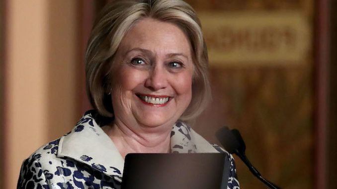 Hillary Clinton is in negotiations to contest the 2020 election as the running mate of the Democrat nominee, according to a report.