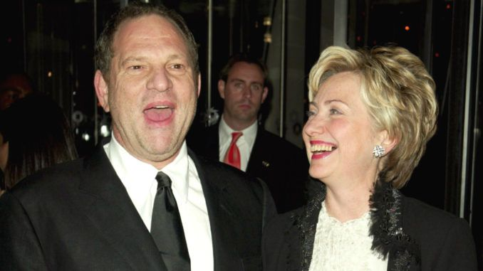Hillary Clinton accepted more cash from Harvey Weinstein than any other Democrat