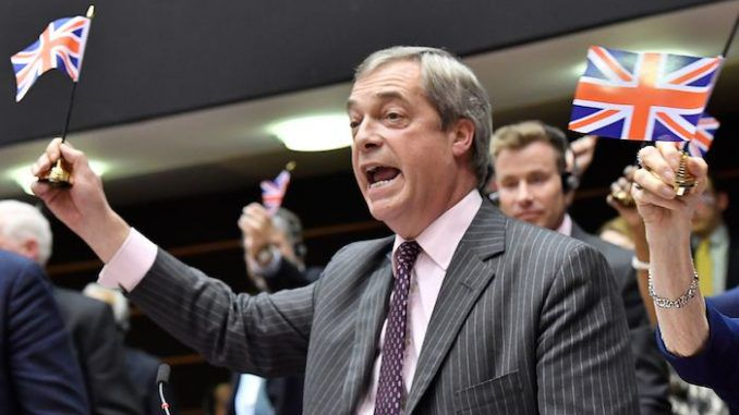 Farage declares Brexit is the beginning of the end for Globalist EU powers