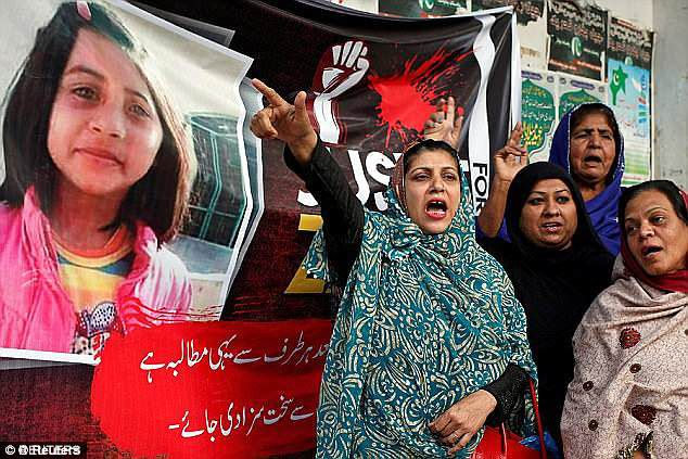 Zainab's murder in 2018 sparked outrage across Pakistan, with riots erupting in Kasur as thousands swarmed police stations and set fire to politicians' homes
