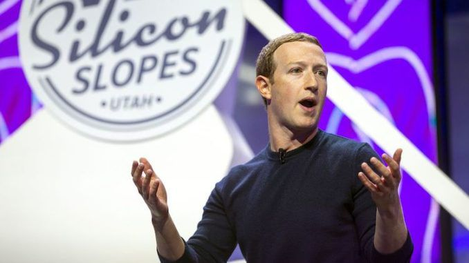 Mark Zuckerberg finally declares he will stand up for the free speech rights of users on Facebook