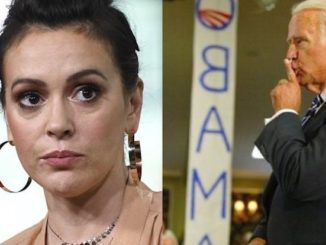 """A couple of years ago Alyssa Milano said, """"You can't pretend to be the party of the American people and then not support a woman who comes forward with her #MeToo story."""" Now she's refusing to support"""
