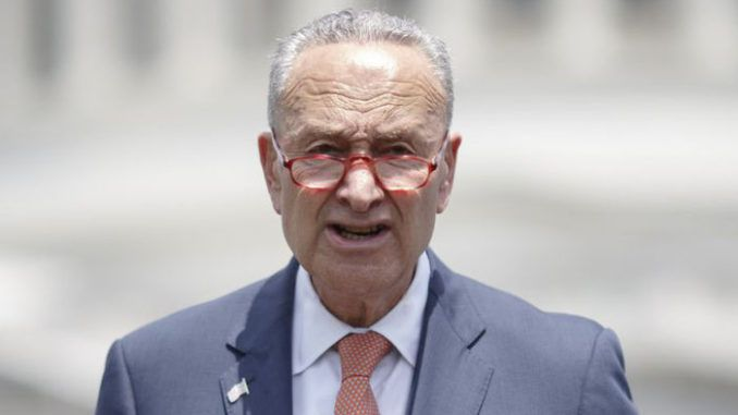 Democrat joints call for Chuck Schumer to resign as Sen. Hawley brings motion to censure