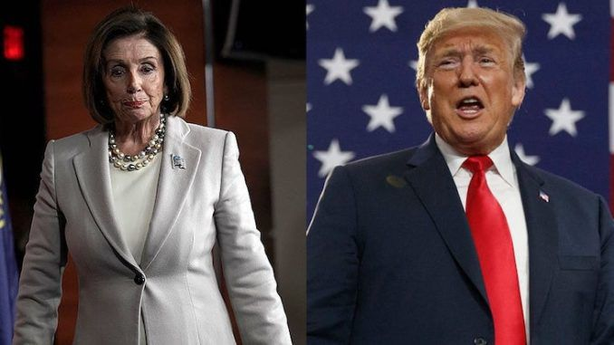 President Trump slams 'sick puppy' Pelosi for being obsessed with impeachment amid coronavirus outbreak