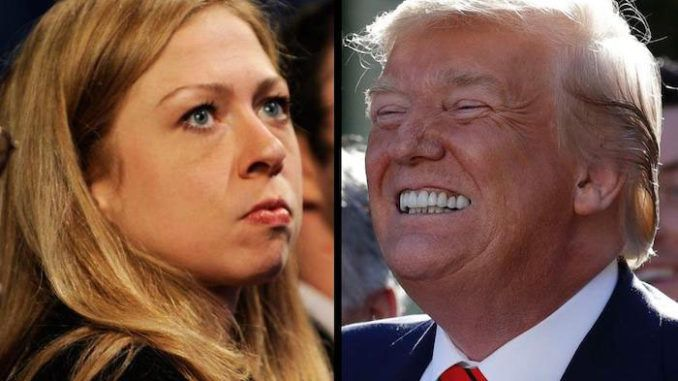 "Chelsea Clinton claimed on Twitter that former President Barack Obama warned President Donald Trump about a ""novel virus"" pandemic."