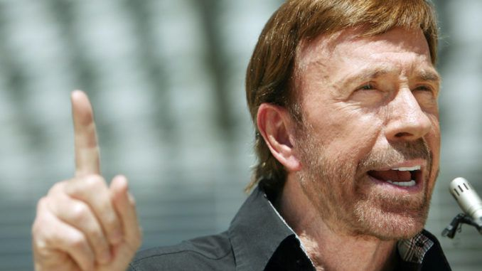America is a nation of freedom-loving patriots who will rise up against excessive restrictions including lockdowns and curfews, says conservative actor Chuck Norris, who published an op-ed on Monday wondering how long it will be until we are under martial law.