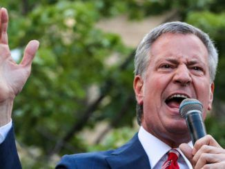 New York City's socialist mayor Bill de Blasio has threatened to permanently close churches and ban them from holding services if they do not obey the government's coronavirus guidelines.
