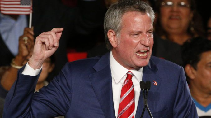 New York socialist Mayor Bill de Blasio is calling for the federal government to nationalize factories and other private industries due to the coronavirus outbreak.
