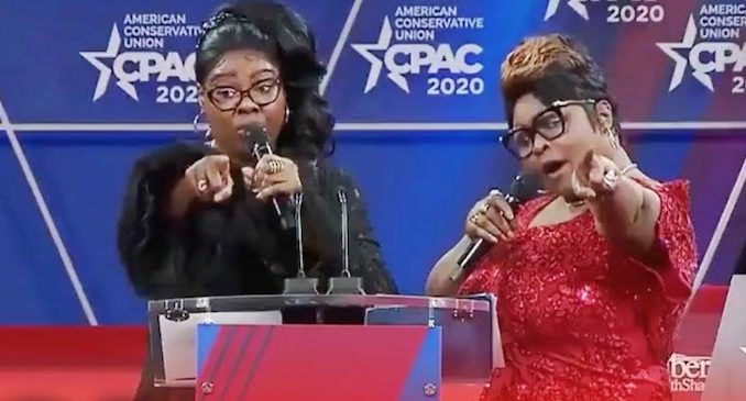 """Black people don't need reparations, black people need liberation from the Democrat plantation,"" Diamond of 'Diamond and Silk' fame said in a fiery speech Thursday at this year's Conservative Political Action Conference outside of Washington, D.C."