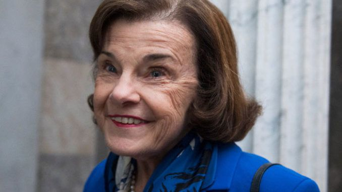 Sen. Dianne Feinstein (D-CA) and three of her colleagues in the Senate sold millions of dollars worth of stock shortly after a classified briefing on the coronavirus outbreak, unloading shares that plummeted in value when the market crashed.