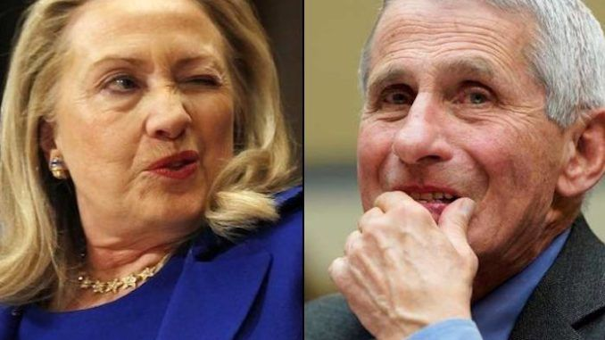 Dr. Anthony Fauci sent a series of gushing letters to Hillary Clinton, according to emais from the WikiLeaks archive.