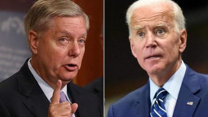 During an interview with Sean Hannity on Fox News, Sen. Lindsey Graham (R-SC) went nuclear on Democrat presidential frontrunner Joe Biden as he exposed the former vice president's role in the uprising of the Islamic State.