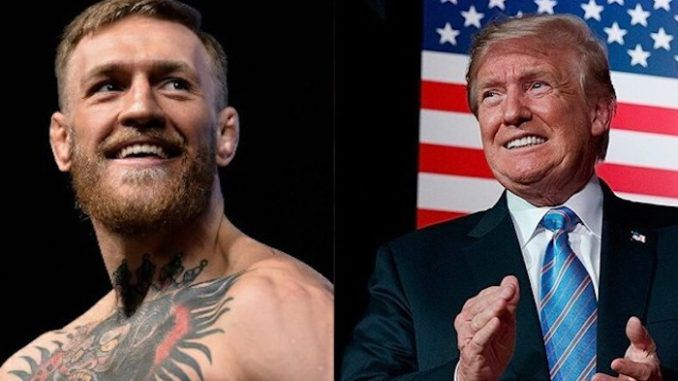 MMA fighter and Trump supporter Conor McGregor donates 1 million dollars to first responders