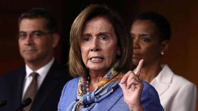 Nancy Pelosi declares President Trump the most dangerous person in the country's history