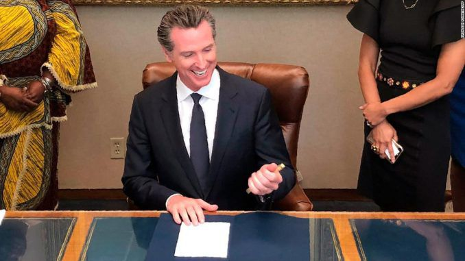 California Gov. Gavin Newsom approves voting by mail amid coronavirus outbreak