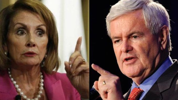 Newt Gingrich slams Nancy Pelosi for trying to force President Trump into accepting really dumb ideas