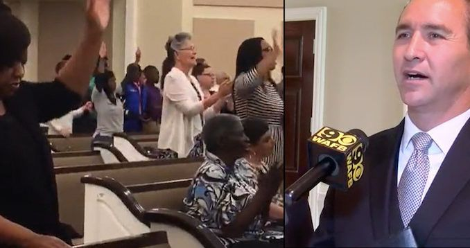 The pastor of a Louisiana church who chose to defy government orders and welcomed hundreds of worshippers into his church service Tuesday evening has been threatened by the authorities.