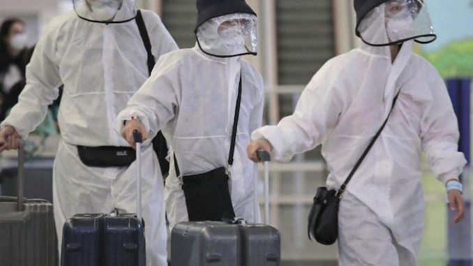 SARS virus and flu samples found in Chinese scientist's luggage arriving in US