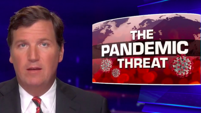 A supply chain management expert appeared on Tucker Carlson Tonight on Thursday to explain why toilet paper shortages aren't exactly what Americans should be most concerned about in the wake of the coronavirus epidemic.