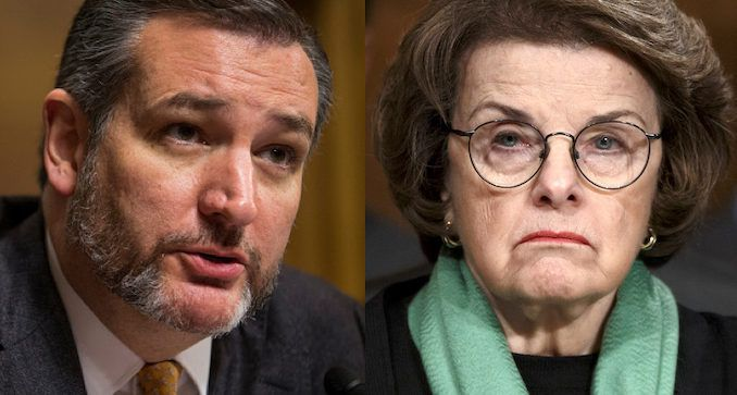 Sen. Ted Cruz blasts Dianne Feinstein for wanting billions for Iran while blocking relief for ordinary Americans