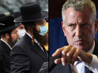 New York City's Socialist Mayor Bill de Blasio has threatened to round up Jewish New Yorkers who were burying a member of their community, just days after promising Muslims nearly half a million free meals to help them celebrate the Islamic holy month.