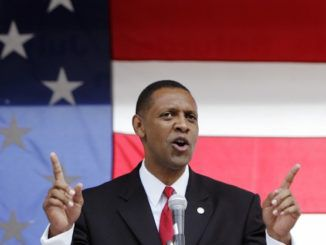 """Georgia House Democrat Rep. Vernon Jones has endorsed President Donald Trump for reelection and resigned from his seat, stating """"I'm sick and tired of me and my family being attacked and harassed by the Democrat Party for putting my country before my party."""""""