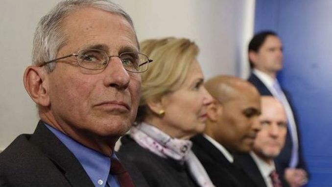 Dr. Anthony Fauci tells CNN it may not be safe to vote in November