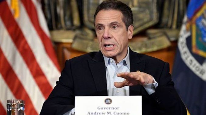 """According to Democrat Gov. Andrew Cuomo, God did not flatten that curve, """"we"""" did. And given the context Cuomo said it in, he made it sound a lot like he was giving all the credit to himself."""