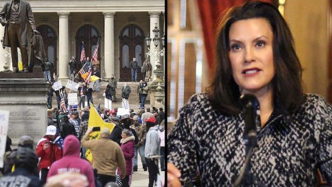 Michigan Gov. Gretchen Whitmer threatens to extend lockdown following protests