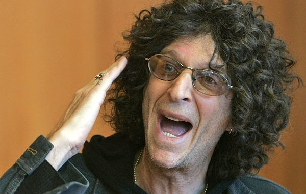 Howard Stern says Trump supporters should take disinfectant and then drop dead