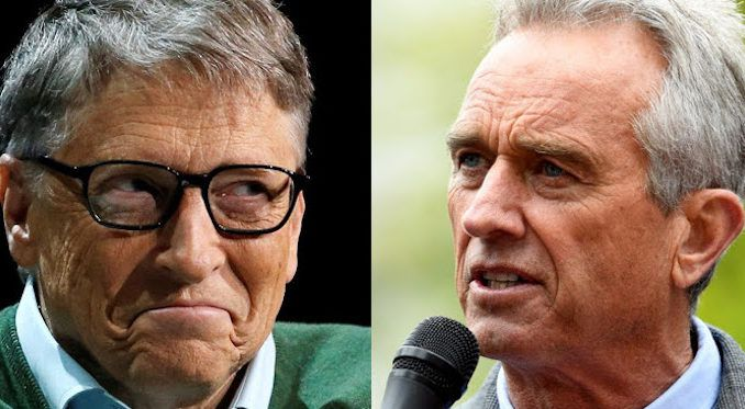 "Robert F. Kennedy Jr. slammed billionaire philanthropist Bill Gates and his ""messianic conviction that he is ordained to save the world with technology."""