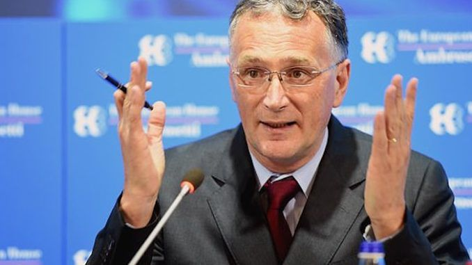 The European Union's chief scientist has resigned from his post, stating he is no longer a supporter of the European Union project following the bloc's failures to address the coronavirus crisis.