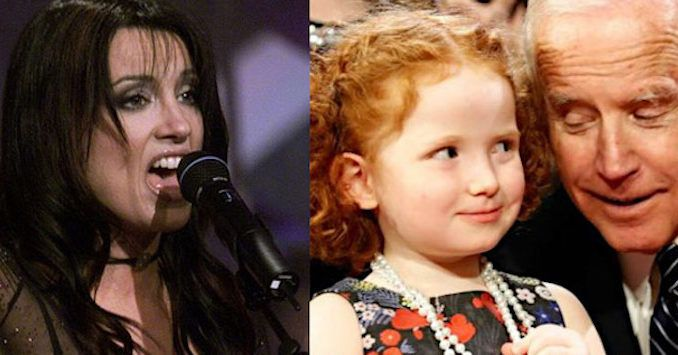 Singer Meredith Brooks says Joe Biden's touching of children curdles her blood