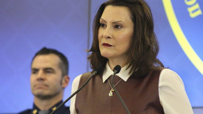 Angry Michigan residents rise up to oppose fascist governor Gretchen Whitmer in Operation Gridlock