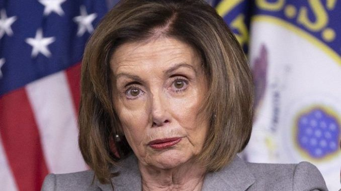 Nasty Nancy's 'every life is precious' line falls like sand from her lips. Until her actions align with her words, she'll forever be a hypocrite.